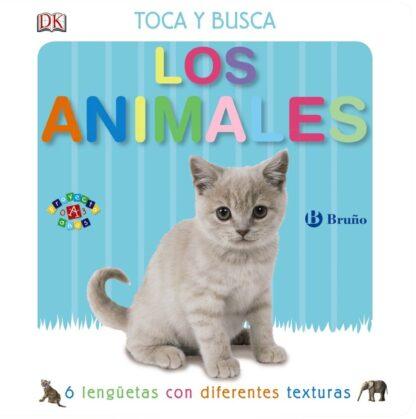 Portada TOCA Y BUSCA. LOS ANIMALES.BRUÑO -  - BRUÑO