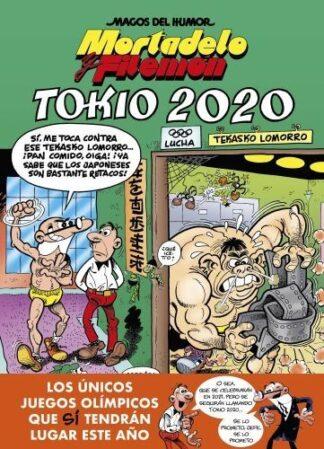 Portada TOKIO 2020 (MAGOS DEL HUMOR 204) - FRANCISCO IBAÑEZ - BRUGUERA