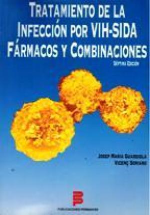 Portada TRATAMIENTO DE LA INFECCION POR VIH. SIDA FARMACOS  - JOSEP MARIA GUARDIOLAVICENC SORIANO - PUBLICACIONES PERMANYER