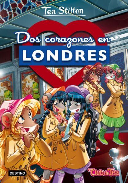 Portada TS 28. DOS CORAZONES EN LONDRES -  - CIRCULO DE LECTORES