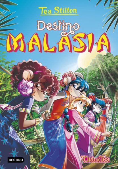 Portada TS36. DESTINO MALASIA - TEA STILTON - CIRCULO DE LECTORES