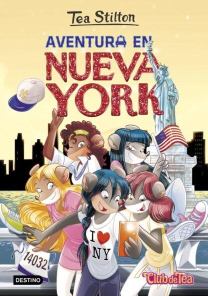 Portada TS 6N. AVENTURA EN NUEVA YORK -  - CIRCULO DE LECTORES