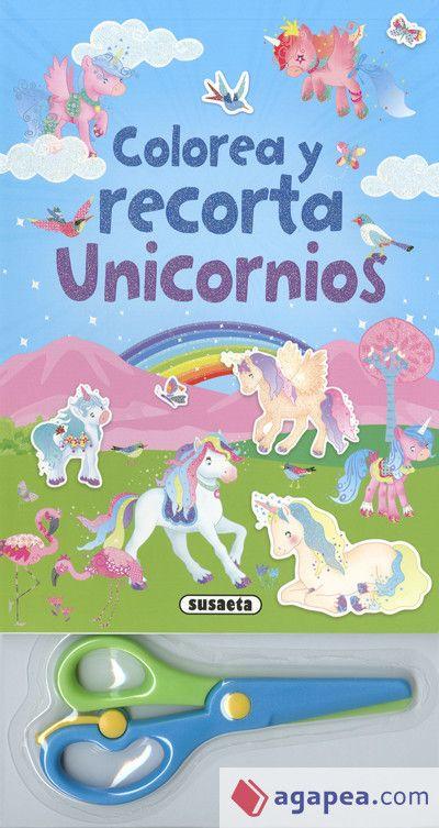 Portada UNICORNIOS (COLOREA Y RECORTA) - VV.AA. - SUSAETA