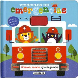 Portada VEHÍCULOS DE EMERGENCIAS - EDICIONES, SUSAETA - SUSAETA