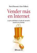 Portada VENDER MAS EN INTERNET - DAVID NORONAT Y ESTER PALLARES - GESTION 2000