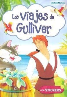 Portada VIAJES DE GULLIVER, LOS (STICKERCLASICOS) + STICKERS - VV.AA. - LIBSA
