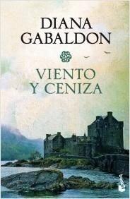 Portada VIENTO Y CENIZA - DIANA GABALDON - CIRCULO DE LECTORES