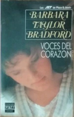 Portada VOCES DEL CORAZON - BARBARA TAYLOR BRADFORD - PLAZA Y JANES