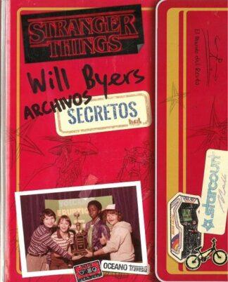 Portada WILL BYERS-ARCHIVOS SECRETOS, STRANGER THINGS -  - OCEANO TRAVESIA