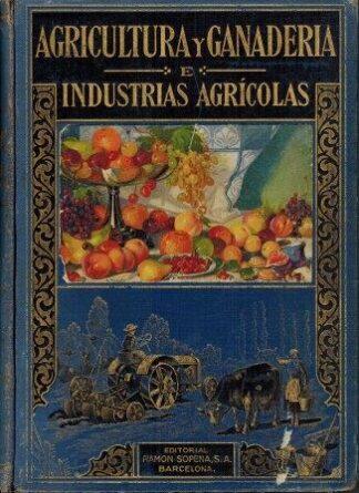 Portada AGRICULTURA Y GANADERIA - ANTONIO GARCIA ROMERO - RAMON SOPENA