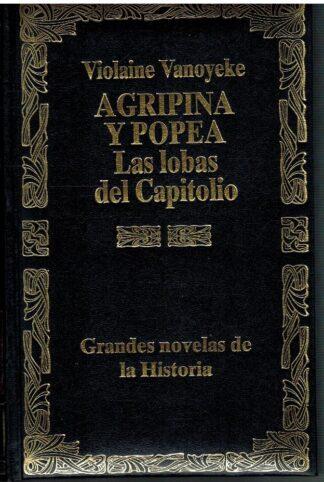 Portada AGRIPINA Y POPEA LAS LOBAS DEL CAPITOLIO - VIOLAINE VANOYEKE - EDESCO