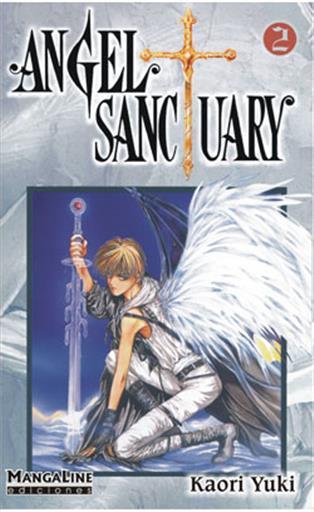 Portada ANGEL SANCTUARY Nº2 - KAORI YUKI -