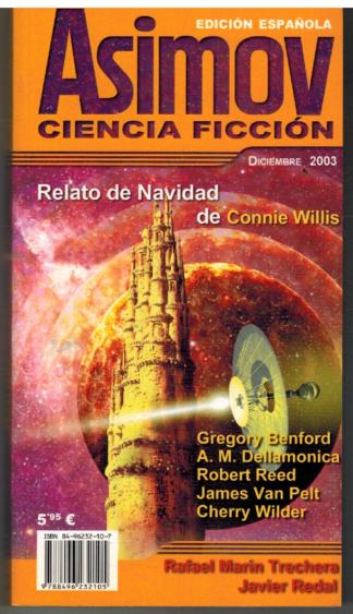 Portada ASIMOV. CIENCIA FICCION. DICIEMBRE 2003 - VVAA - ROBEL