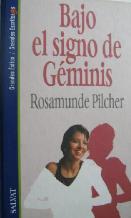 Portada BAJO EL SIGNO DE GEMINIS - ROSAMUNDE PILCHER - SALVAT