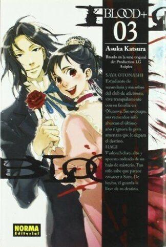 Portada BLOOD+ 3 - ASUKA KATSURA - NORMA EDITORIAL