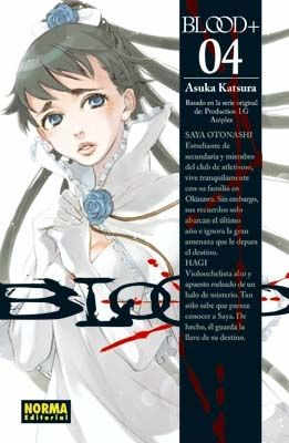 Portada BLOOD+ 4 - ASUKA KATSURA - NORMA EDITORIAL