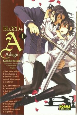 Portada BLOOD+ADAGIO 1 - KUMIKO SUEKANE - NORMA EDITORIAL