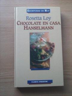 Portada CHOCOLATE EN CASA HANSELMANN - ROSETTA LOY - PLANETA DEAGOSTINI