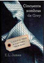 Portada CINCUENTA SOMBRAS DE GREY - E. L. JAMES - GRIJALBO