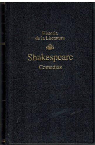 Portada COMEDIAS - WILLIAM SHAKESPEARE - RBA