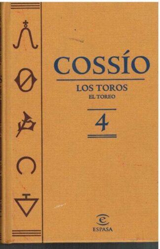 Portada COSSIO. TOMO 4 - VVAA - ESPASA CALPE