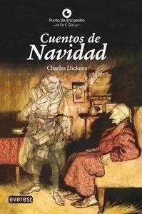 Portada CUENTOS DE NAVIDAD - CHARLES DICKENS - EVEREST