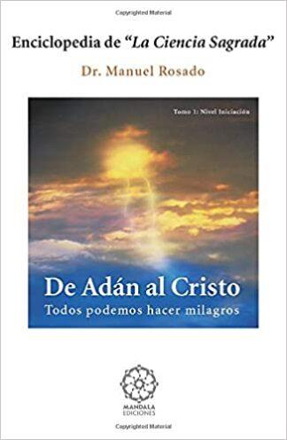 Portada DE ADAN AL CRISTO - ROSADO.MANUEL - MANDALA
