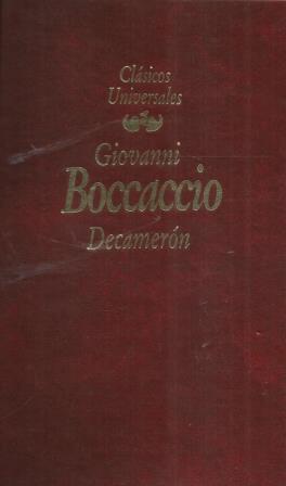 Portada DECAMERON - GIOVANNI BOCCACCIO - PLANETA