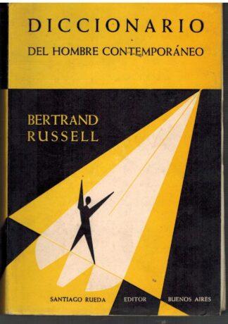 Portada DICCIONARIO DEL HOMBRE CONTEMPORANEO - BERTRAND RUSSELL - SANTIAGO RUEDA
