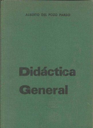 Portada DIDACTICA GENERAL - ALBERTO DEL POZO PARDO - SANTIAGO RODRIGUEZ
