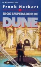 Portada DIOS EMPERADOR DE DUNE - FRANK HERBERT - PLAZA Y JANES