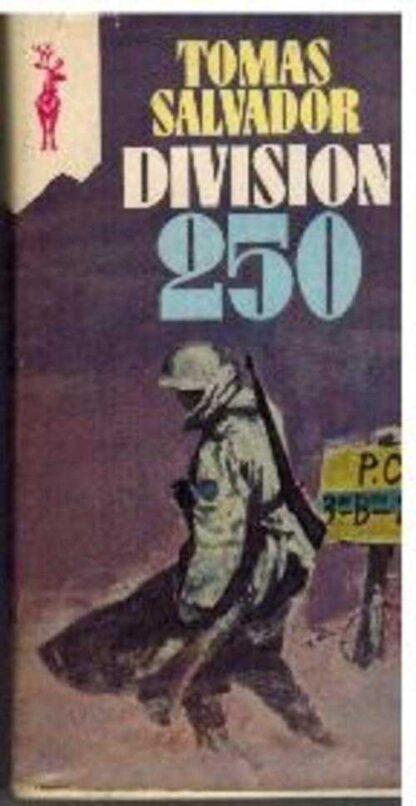 Portada DIVISION 250 - TOMAS SALVADOR - GP