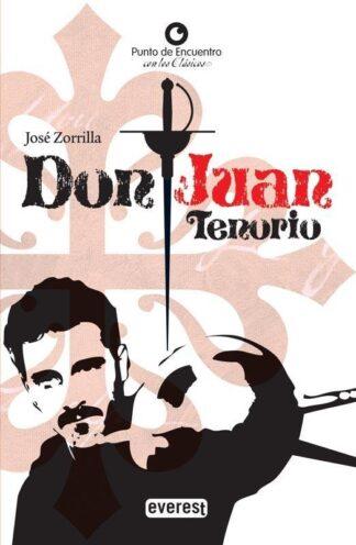 Portada DON JUAN TENORIO - JOSE ZORRILLA - EVEREST