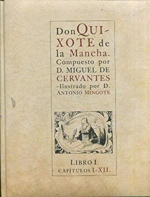Portada DON QUIXOTE DE LA MANCHA. LIBRO I. CAPÍTULOS DEL I AL XII - MIGUEL DE CERVANTES - PLANETA DEAGOSTINI
