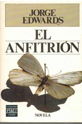 Portada EL ANFITRION - JORGE EDWARDS - PLAZA Y JANES