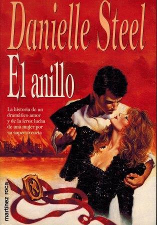 Portada EL ANILLO - DANIELLE STEEL - MARTINEZ ROCA