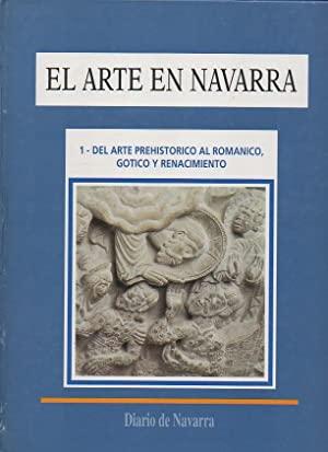 Portada EL ARTE EN NAVARRA. TOMO 1 - DIARIO DE NAVARRA -