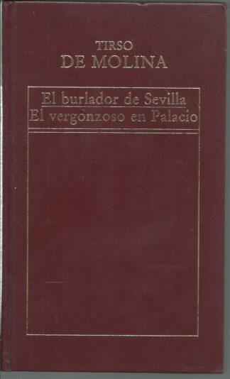 Portada EL BURLADOR DE SEVILLA / EL VERGONZOSO EN PALACIO - TIRSO DE MOLINA  - ORBIS