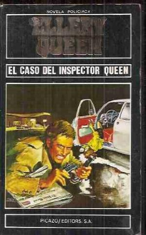 Portada EL CASO DEL INSPECTOR QUEEN - ELLERY QUEENS - PICAZO