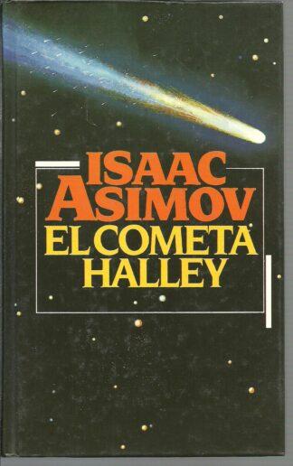Portada EL COMETA HALLEY - ISAAC ASIMOV - CIRCULO DE LECTORES