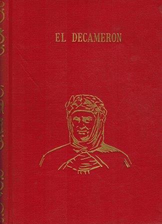 Portada EL DECAMERON - BOCCACCIO - J. PEREZ DEL HOYO