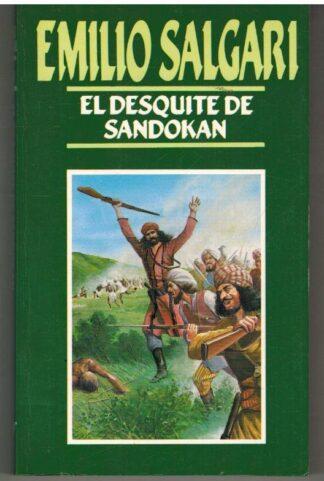 Portada EL DESQUITE DE SANDOKAN - EMILIO SALGARI - ORBIS