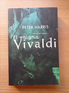 Portada EL ENIGMA VIVALDI - PETER HARRIS - CIRCULO DE LECTORES
