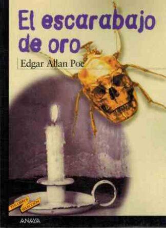 Portada EL ESCARABAJO DE ORO - EDGAR  ALAN POE - ANAYA