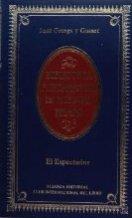 Portada EL ESPECTADOR - JOSE ORTEGA Y GASSET - ALIANZA CLUB INTERNACIONAL DEL LIBRO
