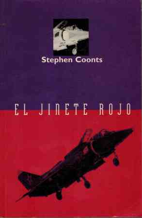 Portada EL JINETE ROJO - STEPHEN COONTS - EDICIONES B