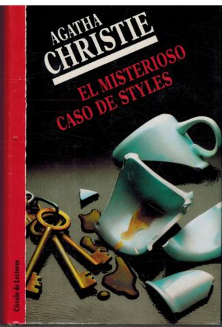 Portada EL MISTERIOSO CASO DE STYLES - AGATHA CHRISTIE - CIRCULO DE LECTORES