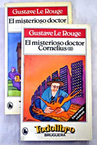 Portada EL MISTERIOSO DOCTOR CORNELUIS I Y II -  - BRUGUERA