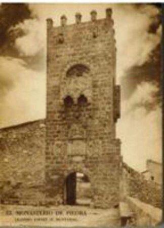 Portada EL MONASTERIO DE PIEDRA. SU HISTORIA Y DESCRIPCION - LEANDRO JORET (FEDERICO MUNTADAS) - PALESTRA
