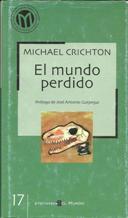 Portada EL MUNDO PERDIDO - MICHAEL CRICHTON - BIBLIOTECA EL MUNDO